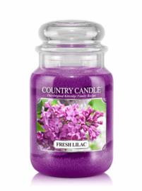 Fresh Lilac Country Candle Large Jar 150 Branduren