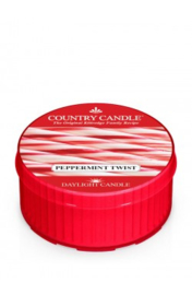 Peppermint Twist Country Candle  Daylight