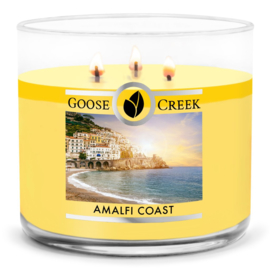 Amalfi Coast Goose Creek Candle  Soy Blend   3 Wick Tumbler