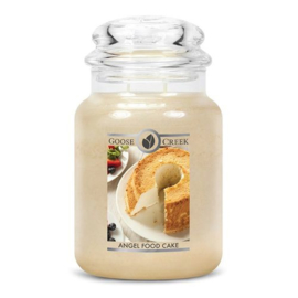 Angel Food Cake Goose Creek Geurkaars Large 150 Branduren