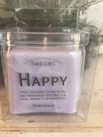 Happy Smellies geurkaars  50 Branduren