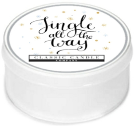 Jingle All The Way Classic Candle MiniLight