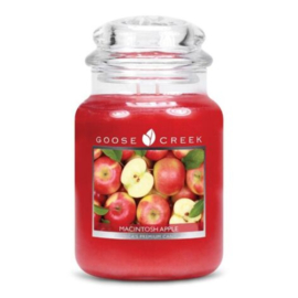 Macintosh Apple Goose Creek Candle Large Jar 150 Branduren