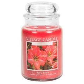 Velvet Petals Village Candle  Large Jar 170 Branduren