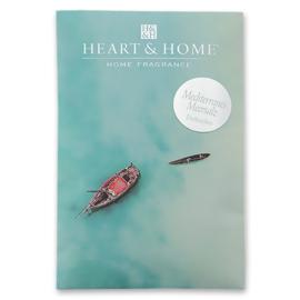 Ocean Heart & Home  Geurzakje