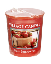 Fresh Strawberries Village Candle  Premium (61g) Votive