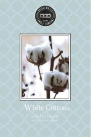 White Cotton Geurzakje Bridgewater Candle Company