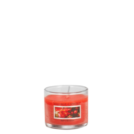 Berry Blossom Village Candle  Mini Glass Votive