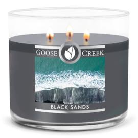 Black Sands Goose Creek Candle  Soy Blend  3 Wick Tumbler
