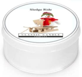 Sledge Ride  Classic Candle  MiniLight