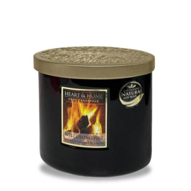Welcoming Fire  Heart & Home  2 Wick Ellipse Candle