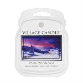 Winter Wonderland Village Candle  1Wax Meltblokje