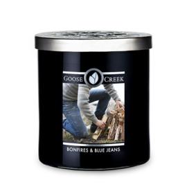 Bonfires & Blue Jeans Goose Creek Candle Soy Wax Blend 50 branduren