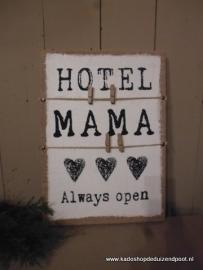 Memobord Hotel mama