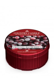 Frosted Cranberries  Country Candle  Daylight