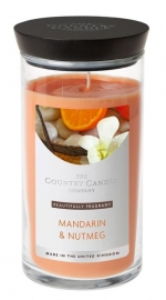 Mandarin & Nutmeg  Country Candle Medium jar