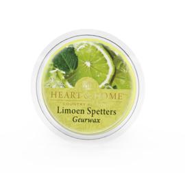 Limoen Spetters Heart & Home Waxmelt