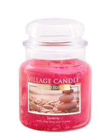 Village Candle Serenity  Medium 105 Branduren