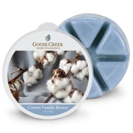 Cotton Vanilla Breeze  Goose Creek Waxmelt