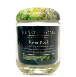River Rock  Heart & Home Large Jar