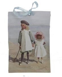 Geurzakje Kinderen op strand (fresh cotton)
