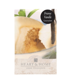 Franse Vanilla Heart & Home Geurzakje