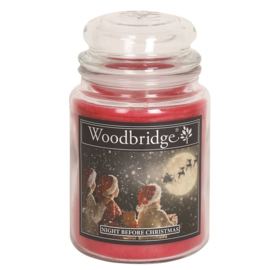 Night Before Christmas Woodbridge Apothecary Scented Jar  130 geururen