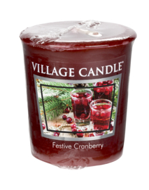 Festive Cranberry  Village Candle  Premium (61g) Votive