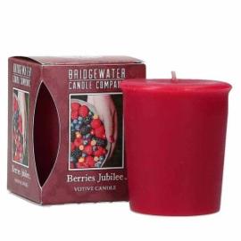 Berries Jubilee Bridgewater Votive Geurkaars 15 Branduren