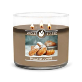 Sugared Donut  Goose Creek Candle Soy Blend 3 Wick Tumbler
