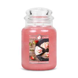 Strawberry Pound Cake Goose Creek Candle Large Jar 150 Branduren
