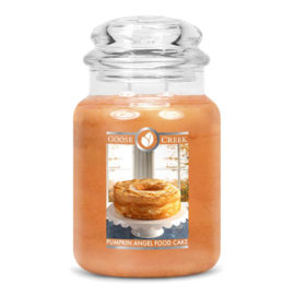 Pumpkin Angel Food Cake Goose Creek Candle  Large Jar  150 Geururen