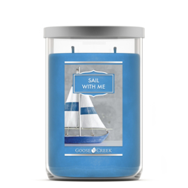 Sail With Me  Goose Creek  Tumbler Candle 120 Branduren
