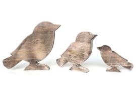 Vogel L 25x20cm naturel