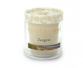 Zeegras Heart & Home  Heart & Home Votive Geurkaars