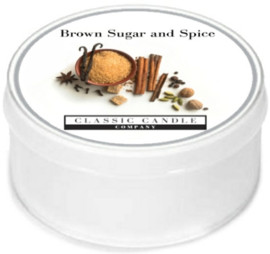 Brown Sugar and Spice Classic Candle MiniLight