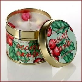 Secret Santa Bomb Cosmetics Geurkaars