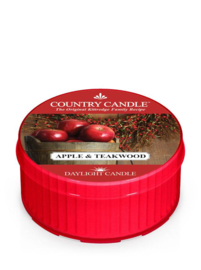 Apple & Teakwood Country Candle  Daylight