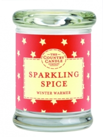 Sparkling Spice  mini geurkaars The Country Candle 20 geururen