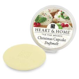 Christmas Cupcake Heart & Home Wax Melt