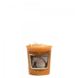 Fall Festival Village Candle  Premium (61g) Votive