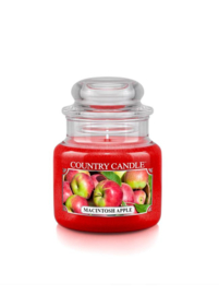 Macintosh Apple Country Candle Mini Jar  30 Branduren