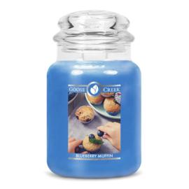 Blueberry Muffin Goose Creek Candle®  Geurkaars Large 150 Branduren