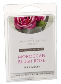 Moroccan Blush Rose  The Country Candle Company Waxmelt