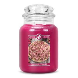 Pinwheel Cookies Goose Creek Candle  Large Jar  150 Geururen