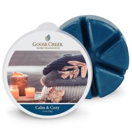 Calm & Cozy Goose Creek Waxmelt