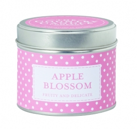 Apple Blossom The Country Candle Sojawax Geurkaars