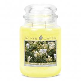 Sweet Honeysuckle Goose Creek Candle 24oz Large Jar