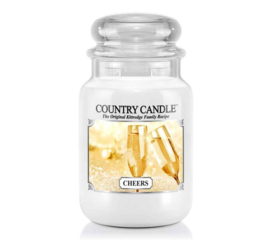 Cheers Country Candle Large Jar 150 Branduren