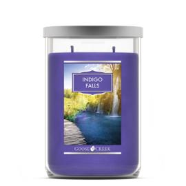 Indigo Falls  Goose Creek  Tumbler Candle 120 Branduren